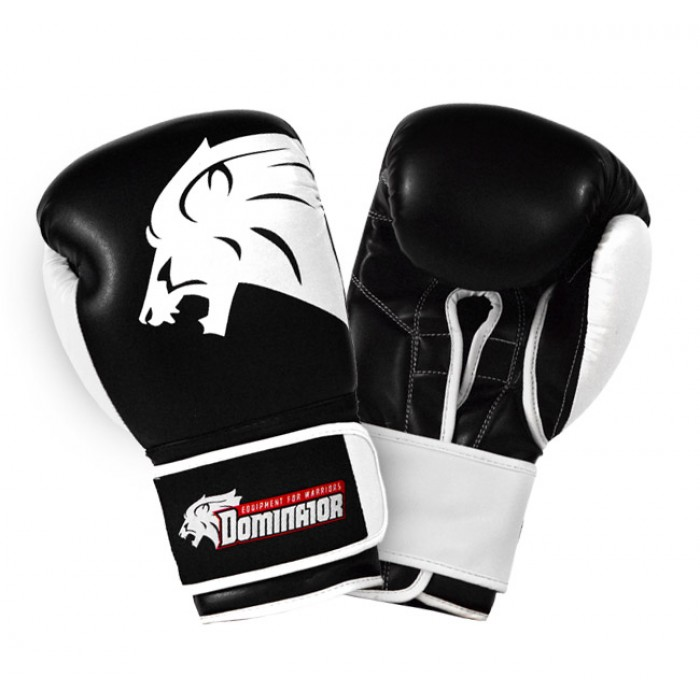 Dominator - Боксови ръкавици / Lion (естествена кожа)