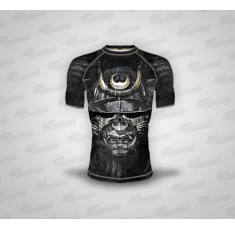 Dominator - Рашгард с къс ръкав - Black Mask