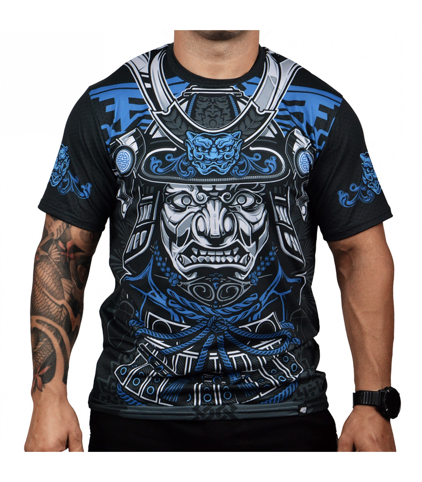 Dominator - Тениска Bushido Warrior / синя