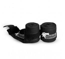 Dominator - Бинт черен / 3.50 метра Бойни спортове и MMA, Бинтове