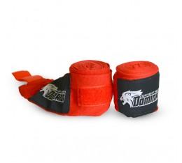 Dominator - Бинт червен / 3.50 метра (RED) Бойни спортове и MMA, Бинтове
