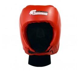 Dominator - Боксова каска / Червена Бойни спортове и MMA, Протектори за глава