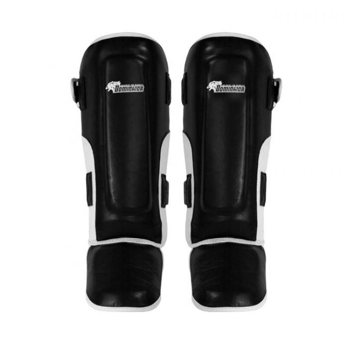 Dominator - Протектори за крака / Kick Boxing (естествена кожа)