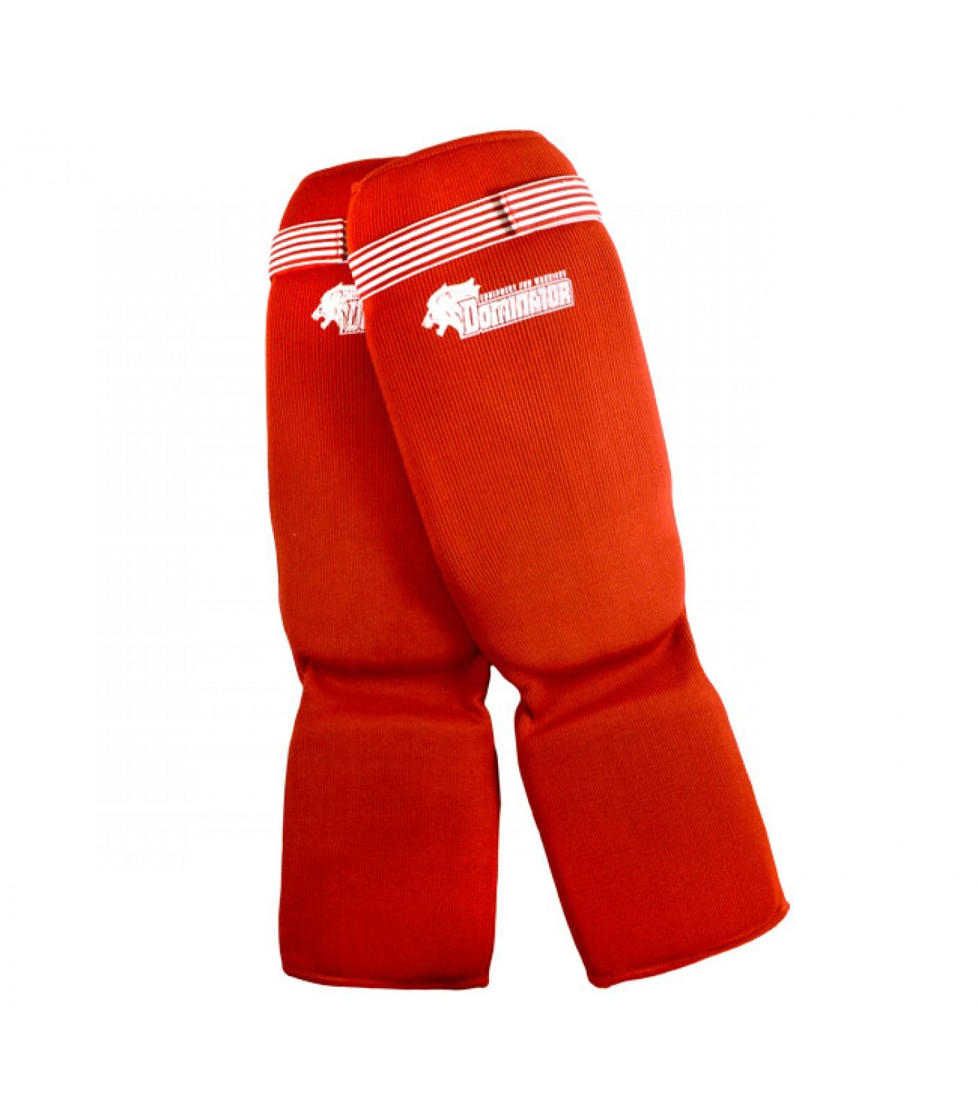 Dominator - Протектор за крака (Памучни / червени)