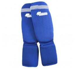 Dominator - Протектор за крака (Памучни / сини) Бойни спортове и MMA, Протектори за крака