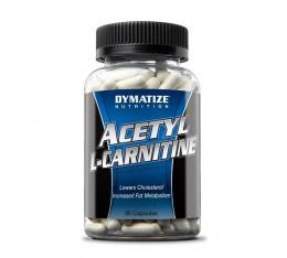 Dymatize - Acetyl L-Carnitine / 90 caps Хранителни добавки, Отслабване, Л-Карнитин