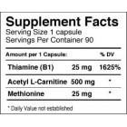 Dymatize - Acetyl L-Carnitine / 90 caps