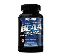 Dymatize - BCAA Complex 2200 / 200 caps Хранителни добавки, Аминокиселини, Разклонена верига (BCAA), Хранителни добавки на промоция