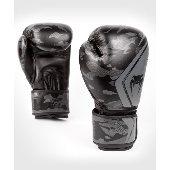 Боксови Ръкавици - Venum Defender Contender 2.0 Boxing Gloves - Black/Black​