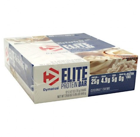 Dymatize - Elite Gourmet Protein Bar Box​ / 6 x 42 gr