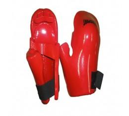 EON Sport  - Изляти протектори за ръце (069 / Червени) Карате ръкавици