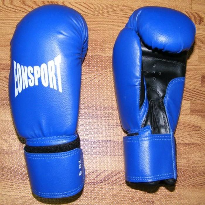 EON Sport - Детски боксови ръкавици / сини