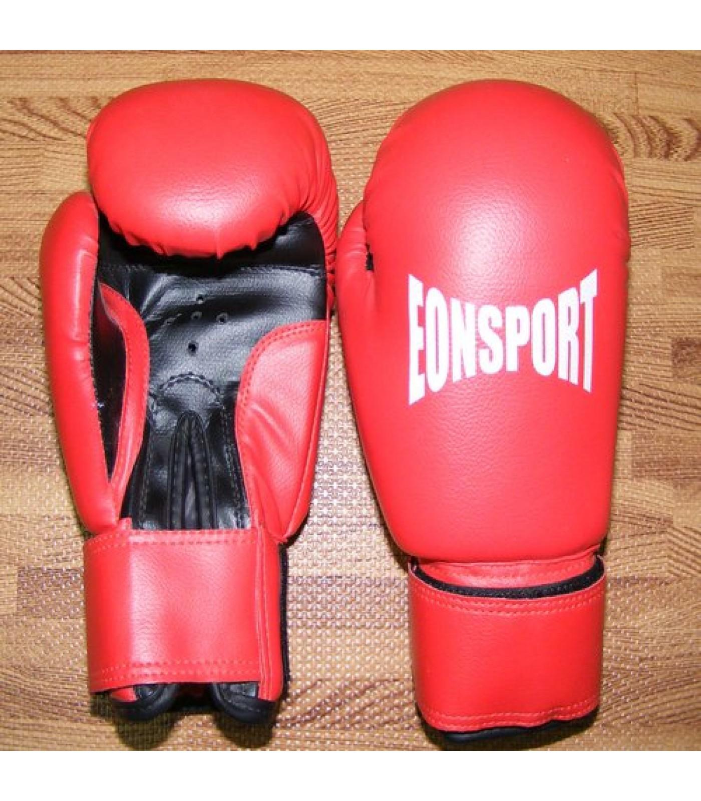 EON Sport - Детски боксови ръкавици / червени