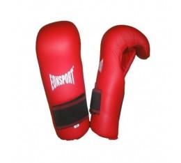 EON Sport  - Семи контакт  ръкавици / Естествена кожа(066 / Червени) Карате ръкавици