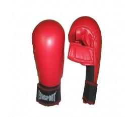 EON Sport  - Ръкавици за карате с палец / Червени Карате ръкавици