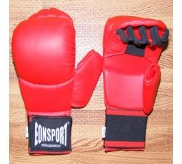 EON Sport  - Ръкавици за карате с палец (050 / Червени) Карате ръкавици