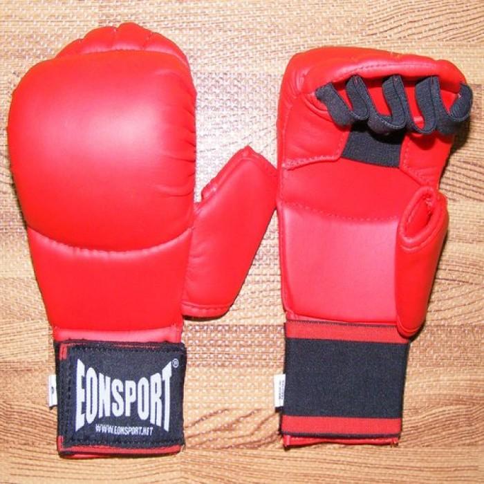 EON Sport  - Ръкавици за карате с палец (050 / Червени)