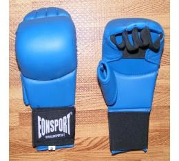 EON Sport  - Ръкавици за карате с палец / Сини Карате ръкавици
