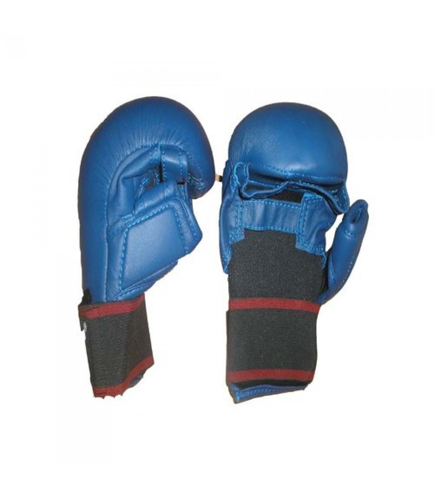 EON Sport  - Ръкавици за карате с палец (048 / Сини)