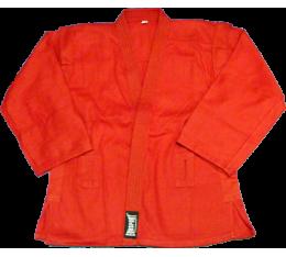 EON Sport - Самбо Куртка (160сm / Червен) Екипи за бойни изкуства, Самбо