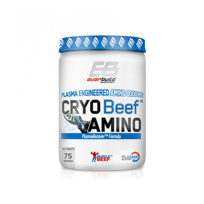 Everbuild - Cryo Beef Amino 8000mg. / 300 tabs.
