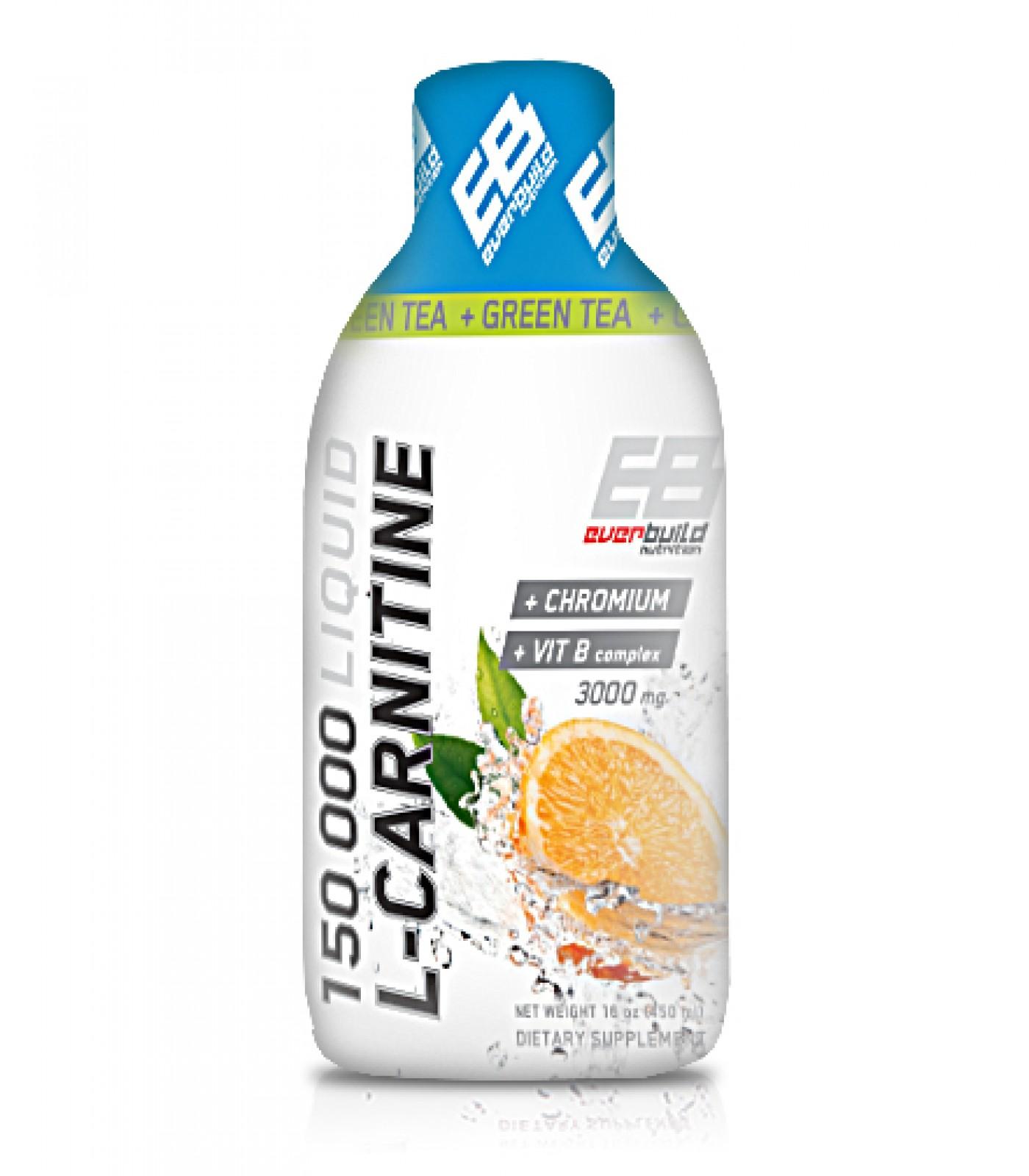 Everbuild - Liquid L-Carnitine 3000mg + Green Tea / 500 ml.
