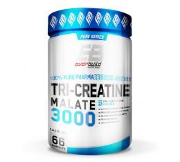 EVERBUILD - Tri-Creatine Malate 3000 / 200g. Хранителни добавки, Креатинови продукти