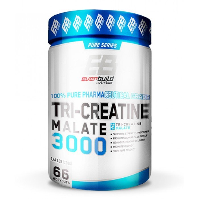 EVERBUILD - Tri-Creatine Malate 3000 / 200g.