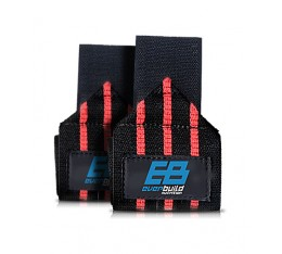 Everbuild - Wrist Wraps / Red-Black Бойни спортове и MMA, Фитнес аксесоари, Фитили