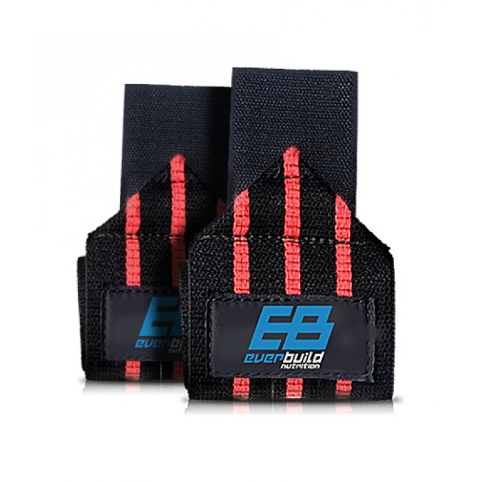 Everbuild - Wrist Wraps / Red-Black