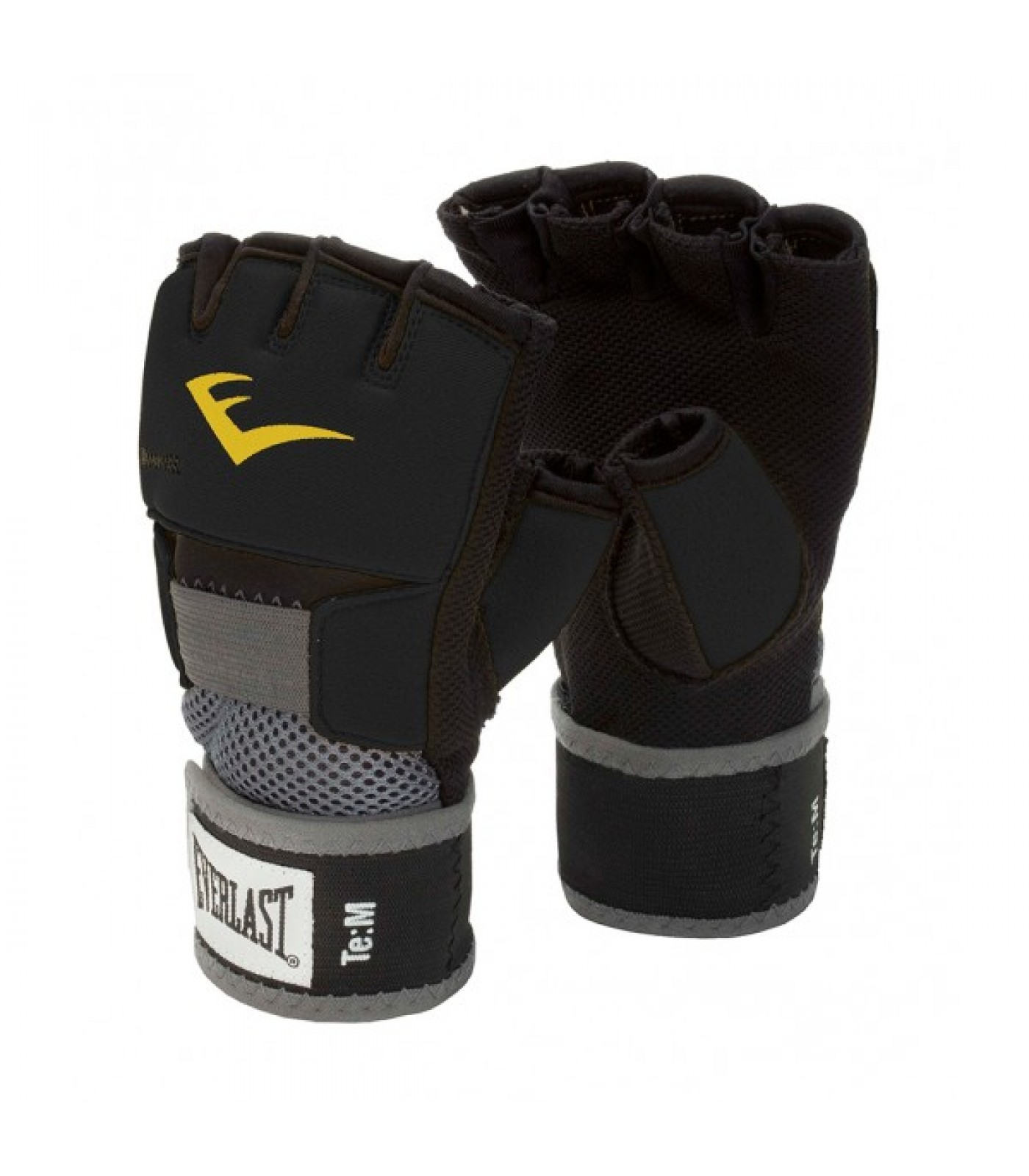 Everlast - Вътрешни ръкавици - Evergel Glove Wraps / Black