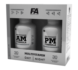 FA Nutrition - Multivitamin AM & PM Formula / 180 tabs.