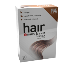 FA Nutrition - Hair Plus Nails & Skin Formula / 30 tabs.