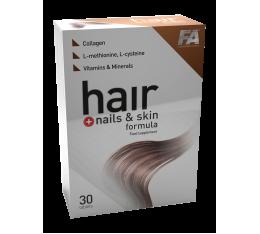 FA Nutrition - Hair Plus Nails & Skin Formula / 30 tabs. Хранителни добавки, Здраве и тонус
