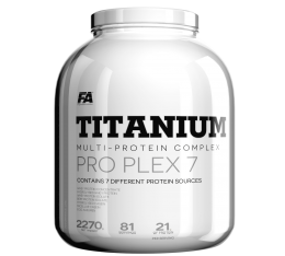 FA Nutrition - Titanium Pro Plex 7 / 2270 gr. Хранителни добавки, Протеини, Протеинови матрици