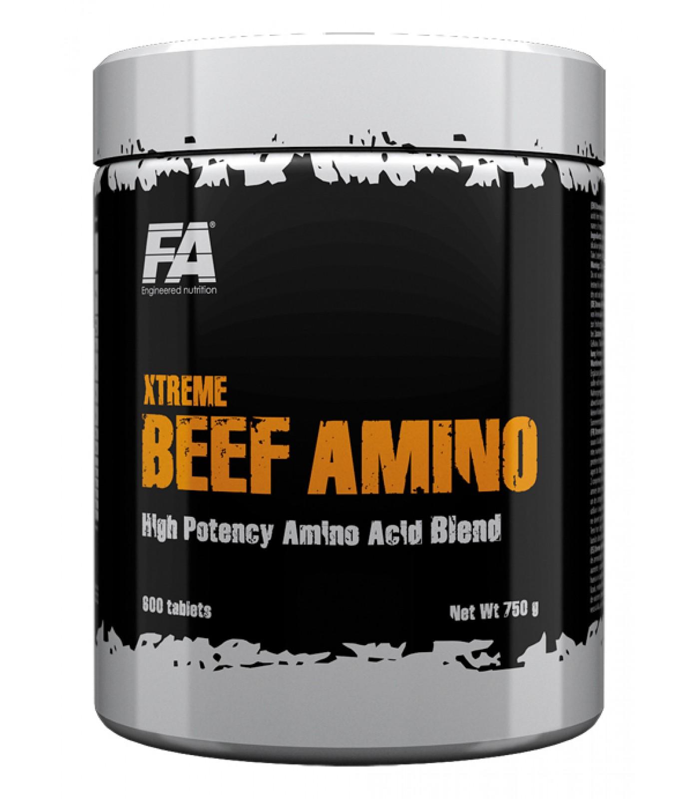 FA Nutrition - Xtreme Beef Amino / 600 tabs.