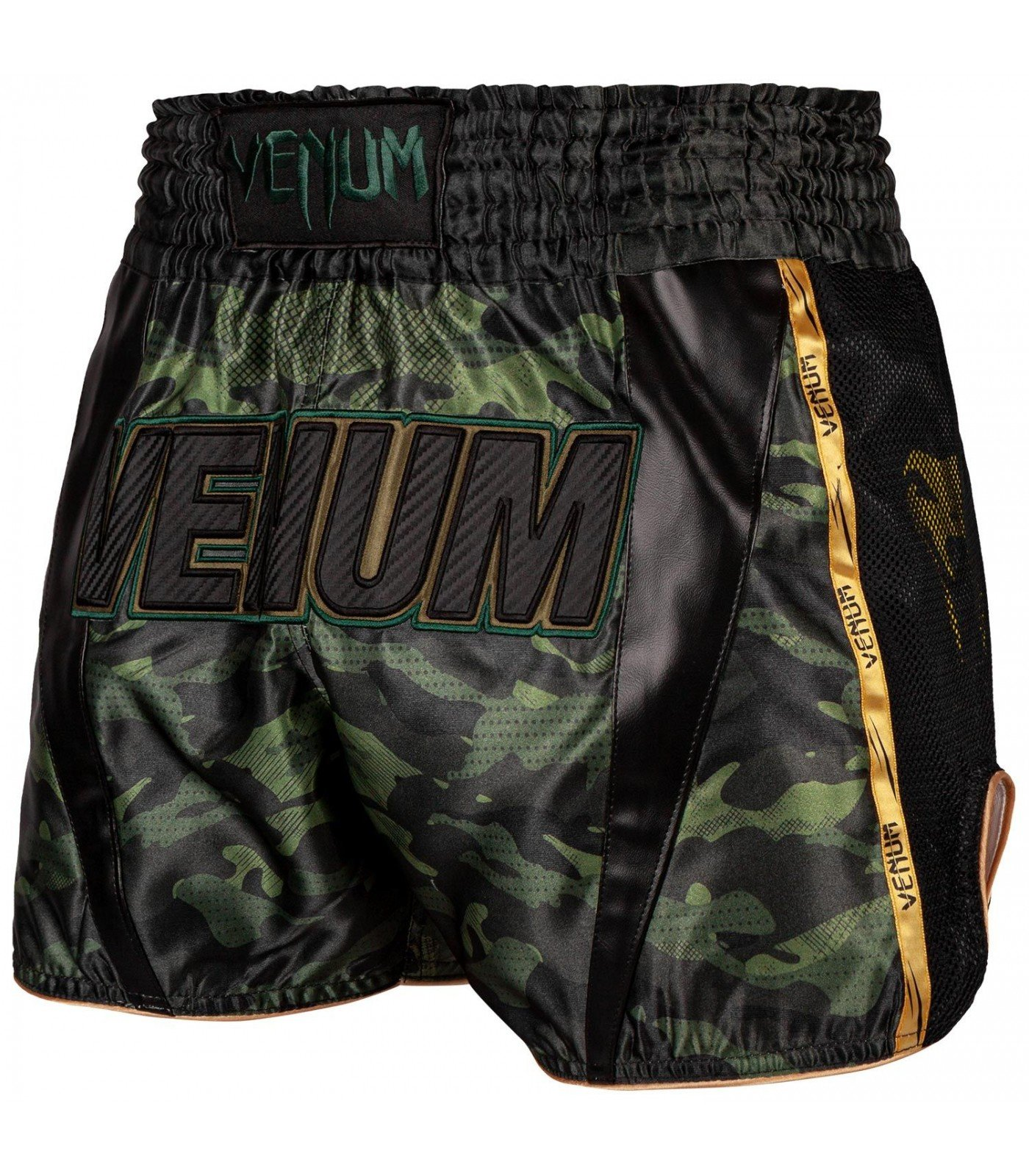 Муай Тай Шорти - Venum Full Cam Muay Thai Shorts - Forest Camo​