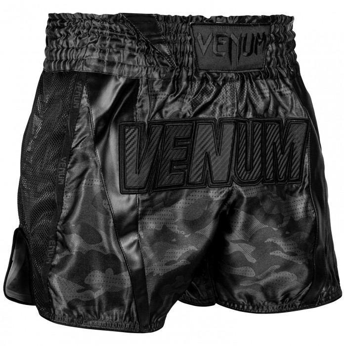 Муай Тай Шорти - Venum Full Cam Muay Thai Shorts - Urban Camo​ Black/Black​