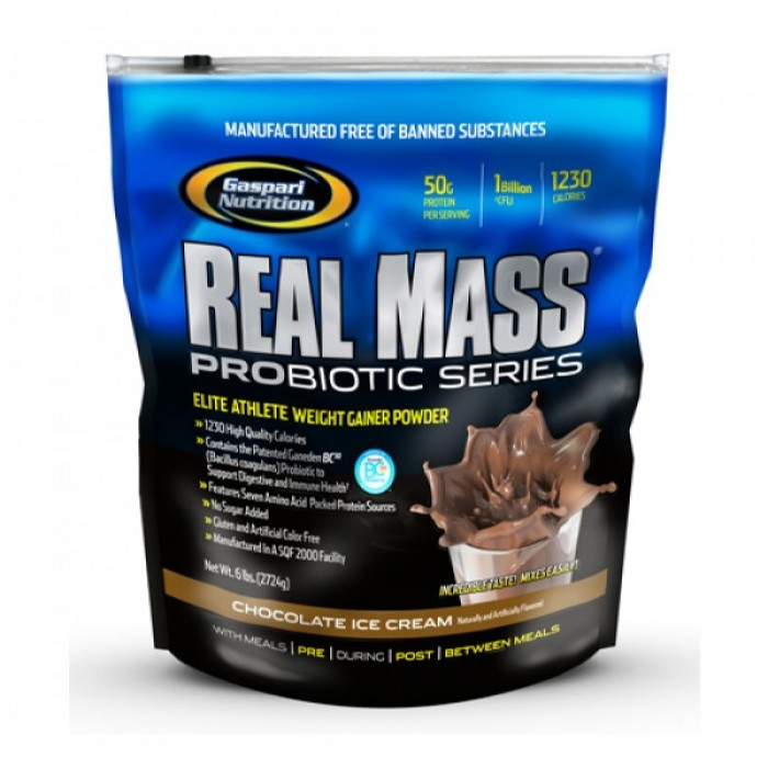 Gaspari - Real Mass Probiotic / 2721гр.