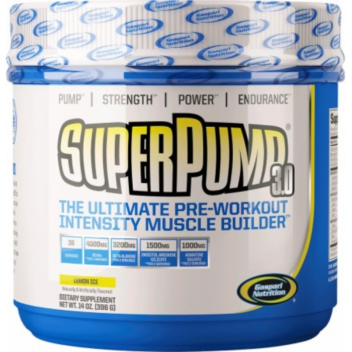Gaspari - SuperPump 3.0 / 396 gr.