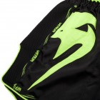 Муай Тай Шорти - Venum Giant Muay Thai Shorts- Black/Neo Yellow​
