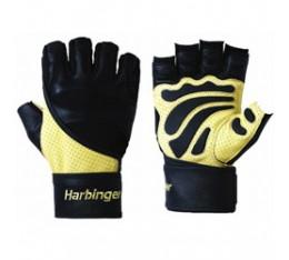 Harbinger - Big Grip 2 - черно/бежов цвят Мъжки ръкавици за фитнес