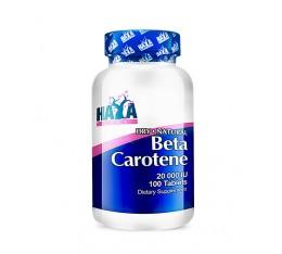 Haya Labs - Natural Beta Carotene 20,000 IU / 100 caps Хранителни добавки, Витамини, минерали и др., Витамин A