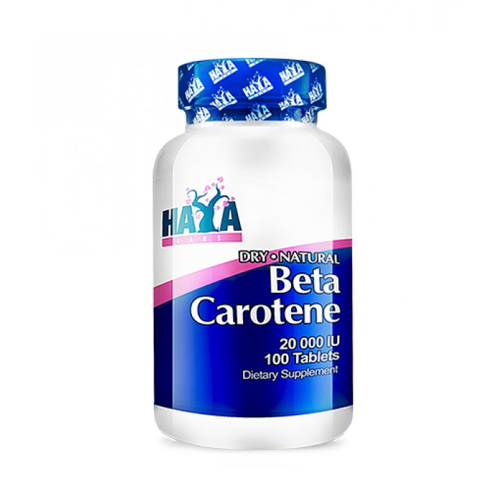 Haya Labs - Natural Beta Carotene 20,000 IU / 100 caps