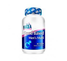 Haya Labs - Food Based Men's Multi / 60tabs. Хранителни добавки, Витамини, минерали и др., Мултивитамини