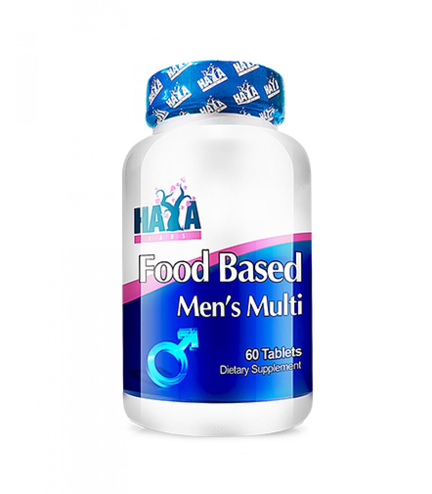 Haya Labs - Food Based Men's Multi / 60tabs.