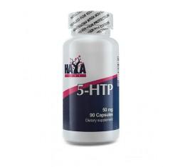 Haya Labs - 5-HTP 50mg. / 90 Caps. Хранителни добавки, Здраве и тонус, В подкрепа на съня