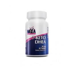 Haya Labs - 7-KETO DHEA 50mg. / 30 Tabs. Хранителни добавки, Витамини, минерали и др., Отслабване