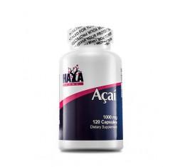 Haya Labs - Acai 1000mg. / 120 Caps. Хранителни добавки, Антиоксиданти, Акай