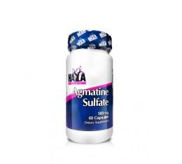 Haya Labs - Agmatine Sulfate 500mg. / 60 caps. Хранителни добавки, Аминокиселини, Аргинин
